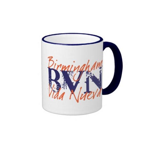 """BVN """"Grunge"""" Auburn Mug"""