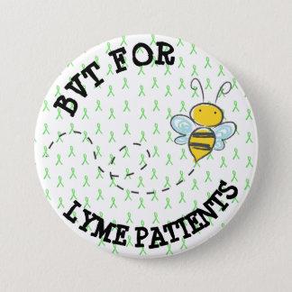 BVT for Lyme Patients Pinback Button