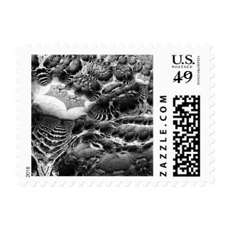 BW Abstract Fantasy Stamps