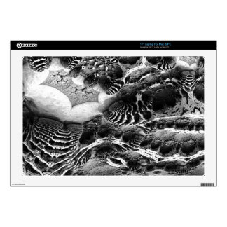 BW Abstract Fantasy Laptop Decal