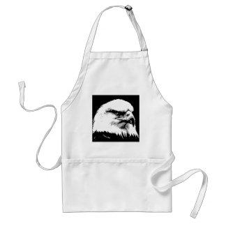 BW American Bald Eagle Apron
