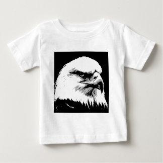 BW American Bald Eagle Baby T-Shirt