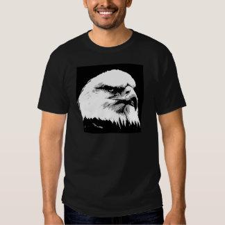 BW American Bald Eagle T-Shirt