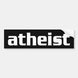 BW_atheist1 Etiqueta De Parachoque