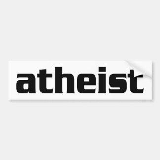 BW_atheist2 Etiqueta De Parachoque