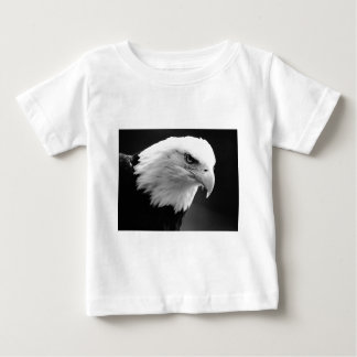 BW Bald Eagle Baby T-Shirt