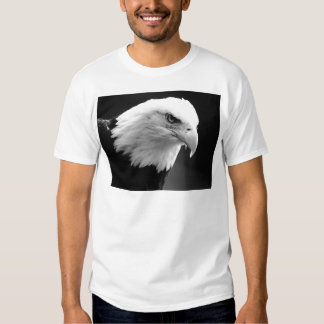 BW Bald Eagle T-Shirt