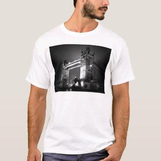 BW Black & White London Tower Bridge T-Shirt