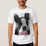 bw boston terrier, Who me? T-Shirt