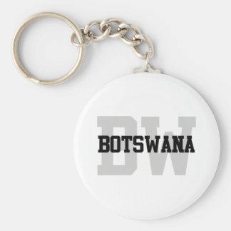 BW Botswana Keychain