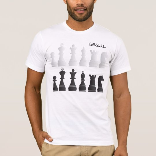 BW_Chess T-Shirt