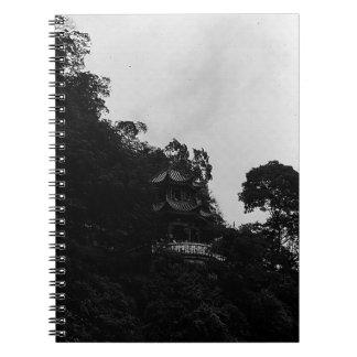 BW China Guilin Lijiang 1970 Spiral Notebooks