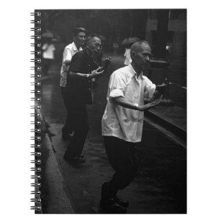 BW China Shanghai morning gymnastic 1970 Notebook