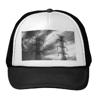 Bw del dbl de la línea eléctrica gorras