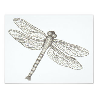 "bw_dragonfly05 001 invitación 4.25"" x 5.5"""