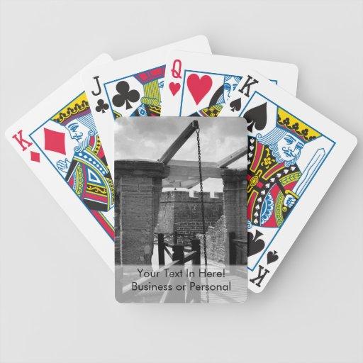 BW Drawbridge St. Augustine Bicycle Playing Cards