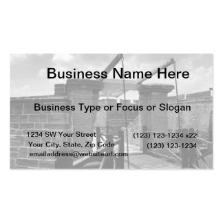 BW Drawbridge St. Augustine Double-Sided Standard Business Cards (Pack Of 100)