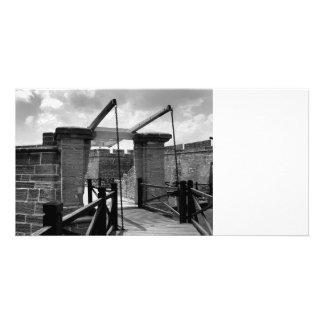 BW Drawbridge St Augustine Personalized Photo Card