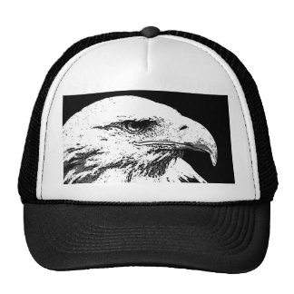 BW Eagle calvo americano Gorras