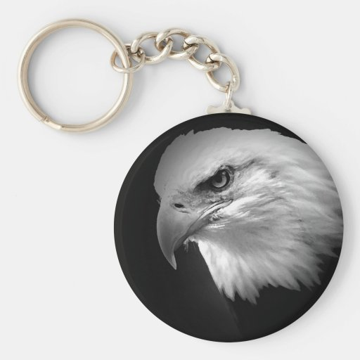 BW Eagle calvo Llaveros