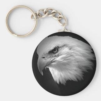 BW Eagle calvo Llavero Redondo Tipo Pin