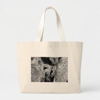 BW Elephant Eye Canvas Bag