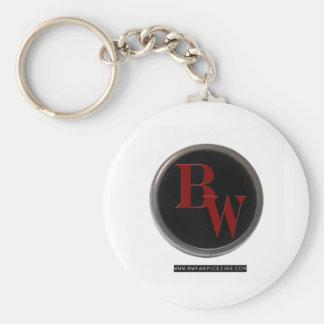 BW Fan Logo Keychain