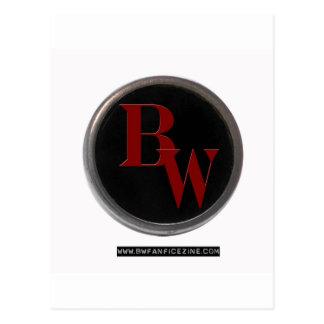 BW Fan Logo Postcard