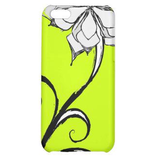 BW Floral Design iPhone 5C Cases
