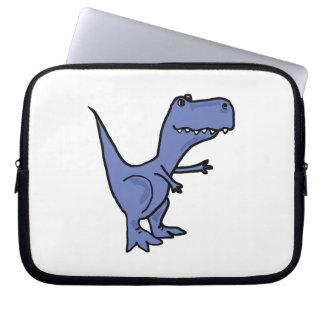BW- Funny T-Rex Dinosaur Laptop Bag Laptop Computer Sleeve