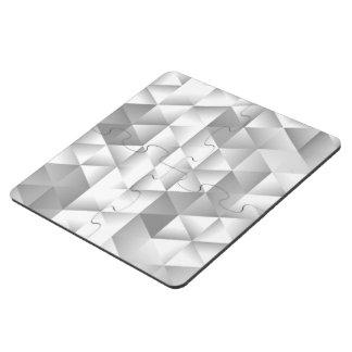 BW Geometric Pattern Sarah Puzzle Coaster