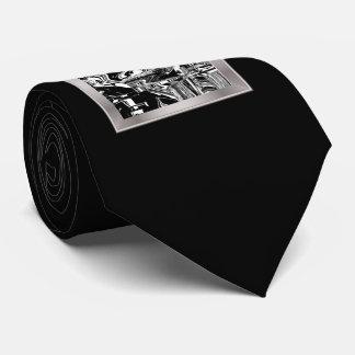 BW Glitch 1 (BW) Neck Tie