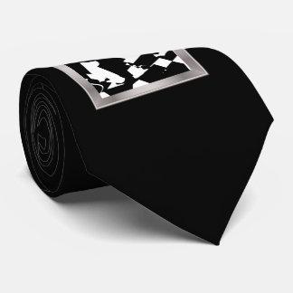 BW Glitch 2(BW) Tie
