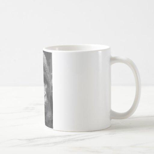 BW Gorilla Face Classic White Coffee Mug