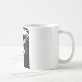 BW Gorilla Face Coffee Mug