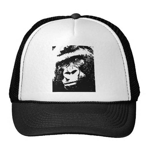 BW Gorilla Face Mesh Hats