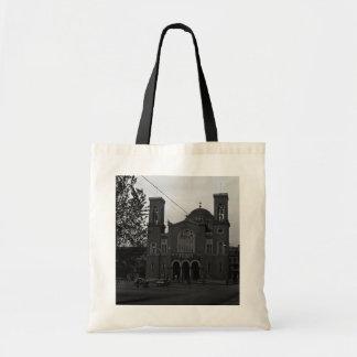 BW Greece Athens Church 1970 Tote Bag