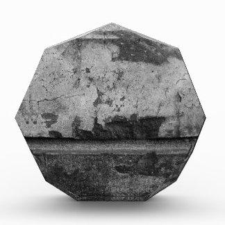 BW Grunge Brick Texture Photography Acrylic Award
