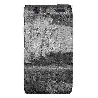 BW Grunge Brick Texture Photography Droid RAZR Cases