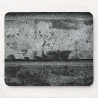 BW Grunge Brick Texture Photography Mouse Pads