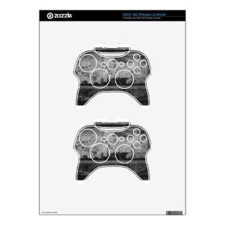 BW Grunge Brick Texture Photography Xbox 360 Controller Skin