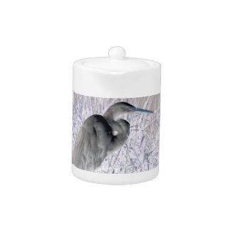 bw invertido del egret frecuentado