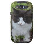 BW Kitten Samsung Galaxy SIII Cover