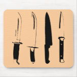bw knives mouse pads
