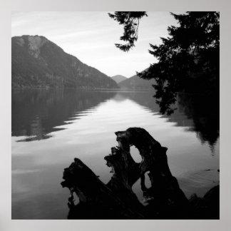bw lake view 1 print