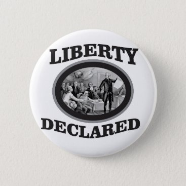 bW liberty declared Button