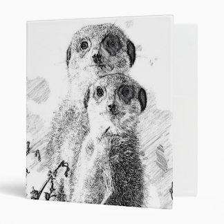 BW Meerkats 315 Carpeta 2,5 Cm