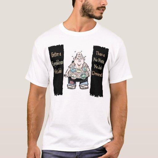 BW-NutJob=COLOR2 T-Shirt