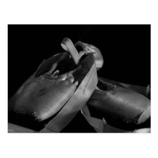 BW Pointe (Ballet) Slippers Postcard
