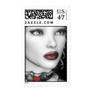 BW Portrait Stamps